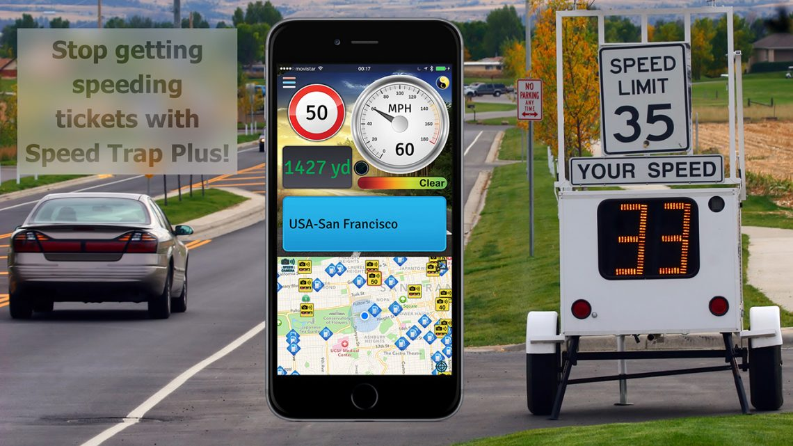 Stop getting speeding tickets with Speed Trap Plus