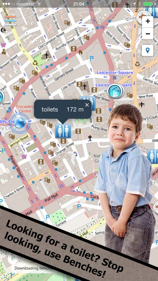 Looking for a toilet? Stop looking, use Toilets Finder!